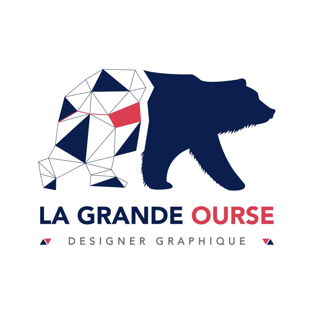 Logo La Grande Ourse Designer Graphique